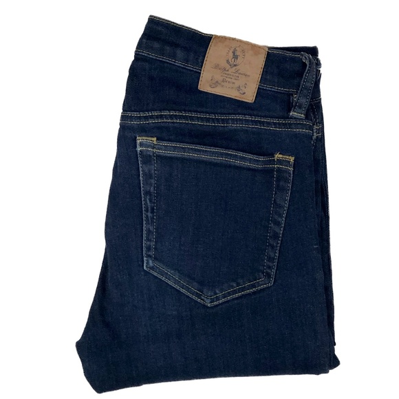 Ralph Lauren Denim - RALPH LAUREN SPORT Blue Label Mid-Rise Skinny Jean